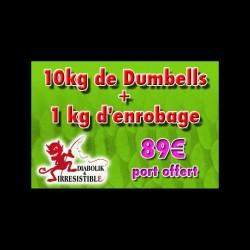 Pack Dumbell Moule Ecrevisse