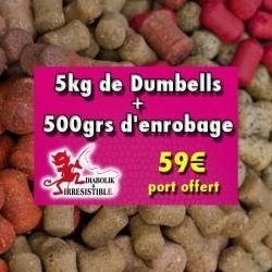 Pack dumbell Suprême Fish 5kg