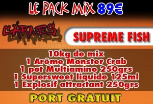 Pack Mix Suprême Fish