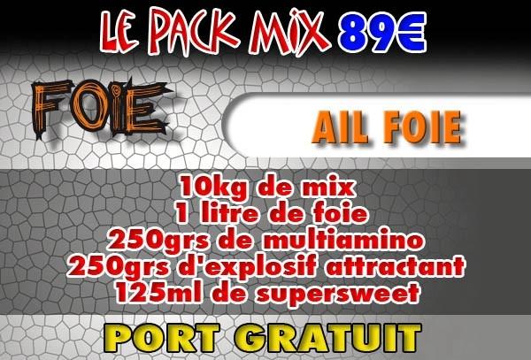 Pack mix ail foie