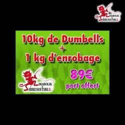 Pack Dumbell Ail Foie 10kg